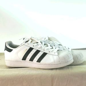 Adidas Superstar cloud white sneakers shell toe 7